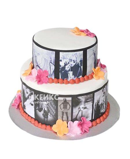 Торт с мастикой 5