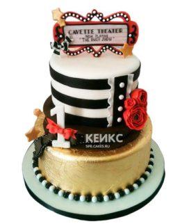 Торт с мастикой 8