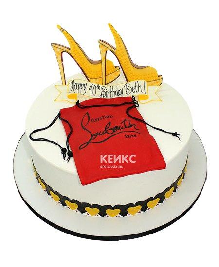 Торт с мастикой 9