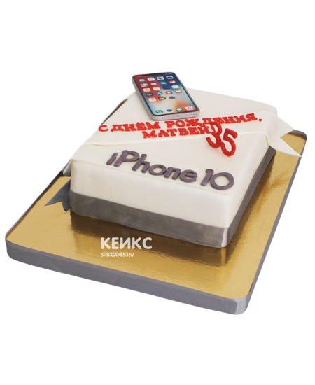 Торт айфон 7 7