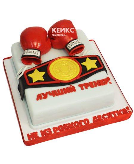 Торт боксерские перчатки 8
