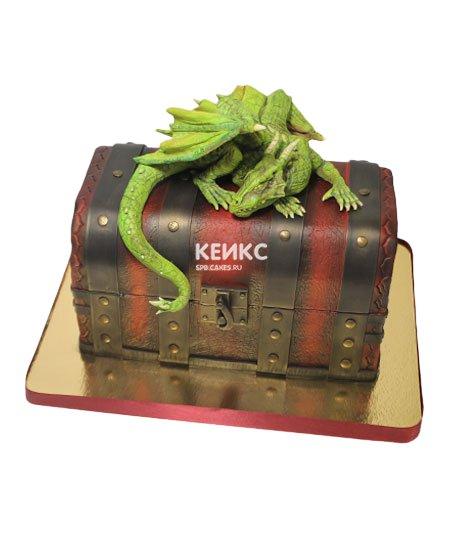 Торт дракон 10