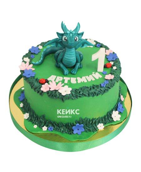 Торт дракон 9