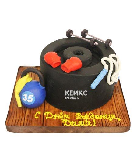 Торт гиря 12
