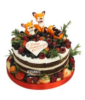 Торт лиса 5