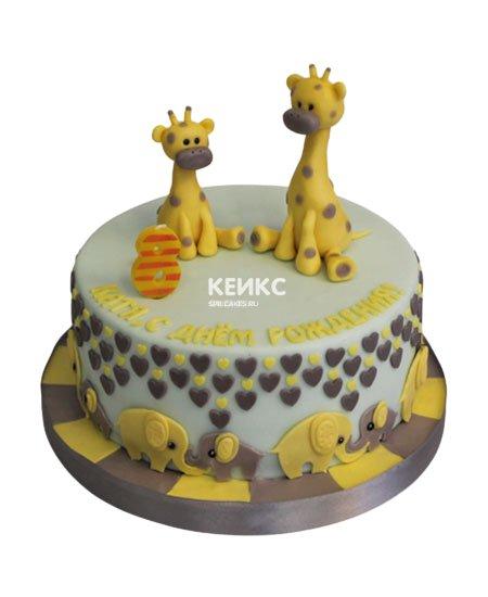 Торт на 2 года мальчику 38