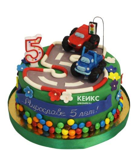 Торт на 5 лет мальчику 17
