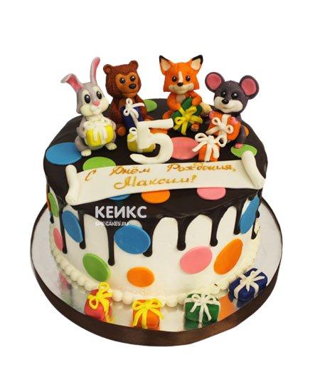 Торт на 5 лет мальчику 18