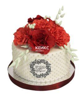 Торт на юбилей 25 лет 1