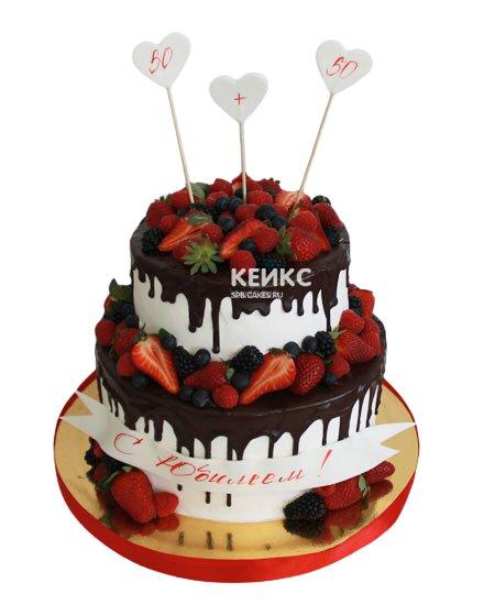 Торт на юбилей 35 лет 1