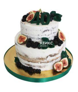 Торт на юбилей 45 лет 1