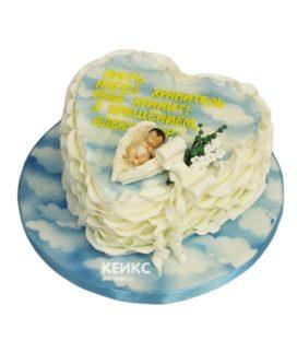 Торт на крещение мальчику