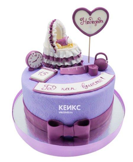 Торт на выписку для девочки 13