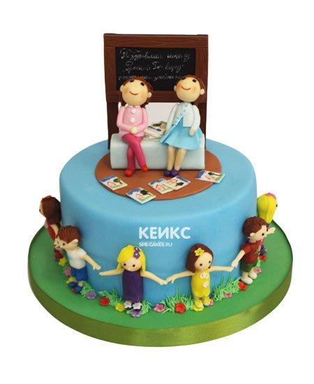 Торт на выпускной 4 класс 6