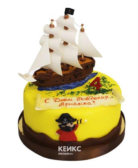 Торт пирату 10