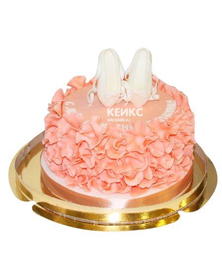 Торт с балериной 13