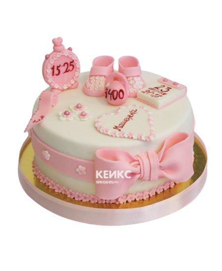 Торт с метрикой 22