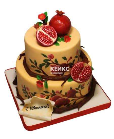 Торт в русском стиле 12