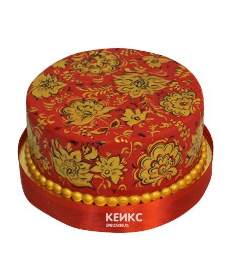 Торт в русском стиле 13