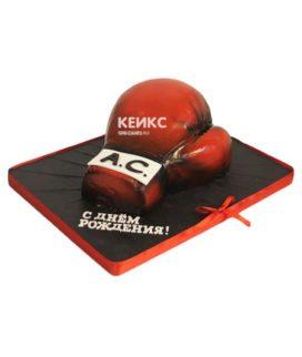 Торт боксерские перчатки 10