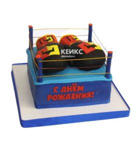 Торт боксерские перчатки 9