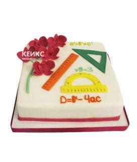 Торт для учителя математики 12