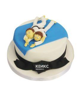 Торт дзюдо 13