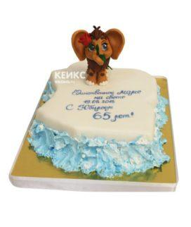 Торт мамонтенок 15