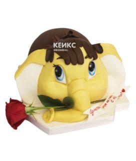 Торт мамонтенок 16