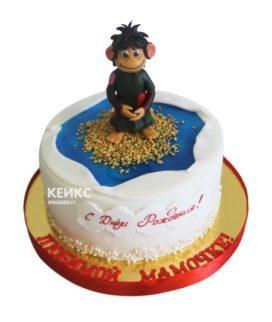 Торт мамонтенок 17