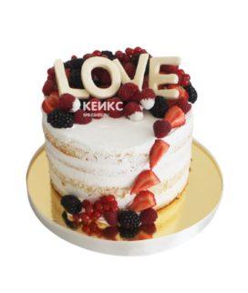 Торт на день рождения недорогой 11