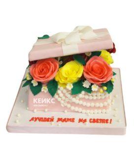 Торт необычный для женщины 5