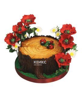 Торт пень 5