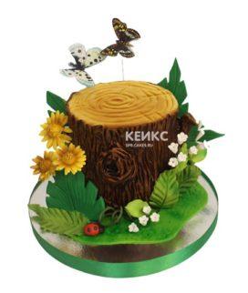 Торт пень 6