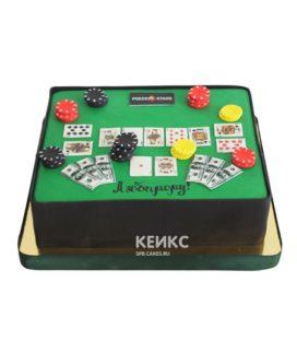 Торт покер 8