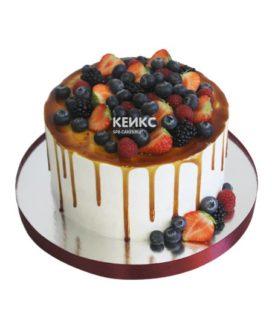 Торт с голубикой 15