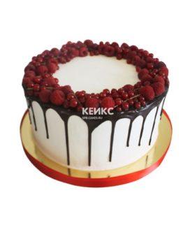 Торт с красной смородиной 1