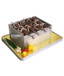 Торт шашлык 10