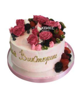 Торт женщине без мастики 2