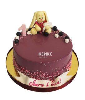 Торт без мастики для девочки 10