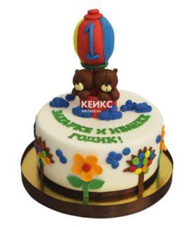 Торт для двойняшек мальчику 7