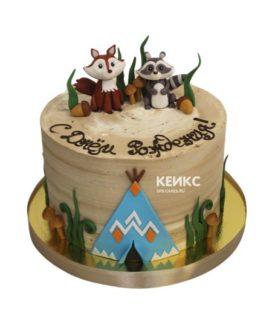 Торт енот 9