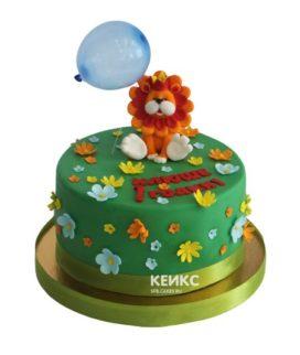 Торт лев 12