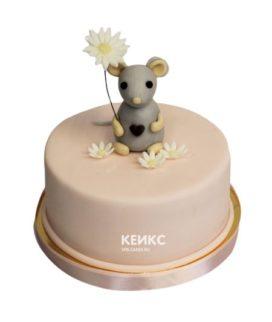 Торт мышка 11