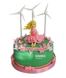 Торт на 13 лет девочке 14