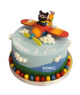 Торт на 2 года мальчику 39
