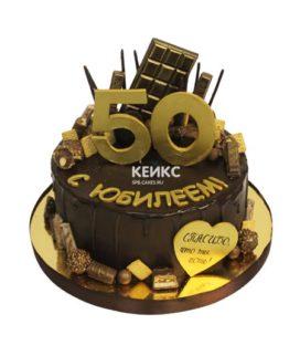 Торт на юбилей мужчине 50 лет 13