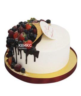 Торт на золотую свадьбу 13