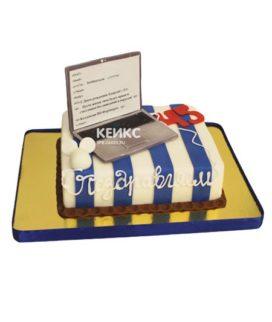 Торт ноутбук 4