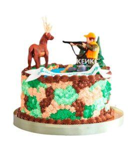Торт охота без мастики 8